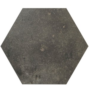 Bodenfliesen Casablanca Hexagon Anthrazit 52x60cm